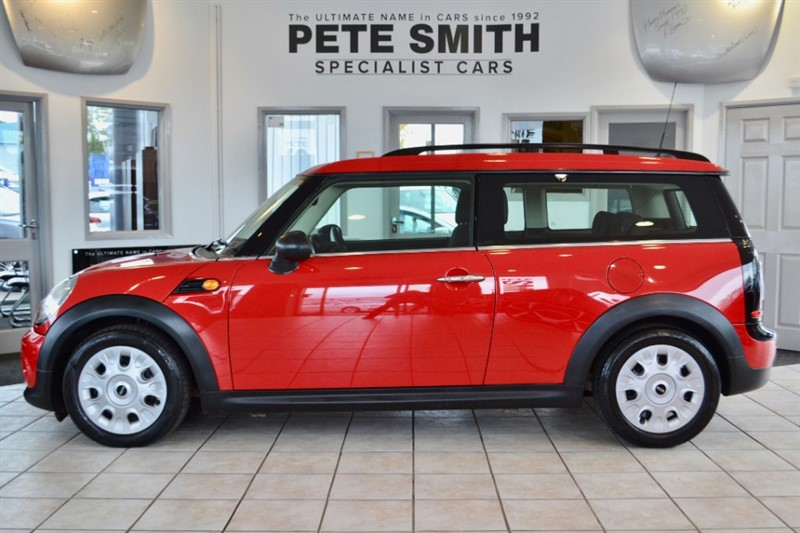 used MINI Clubman 1.6 ONE D CLUBMAN £20 A YEAR ROAD TAX 2011/61 in forest-of-dean-gloucestershire