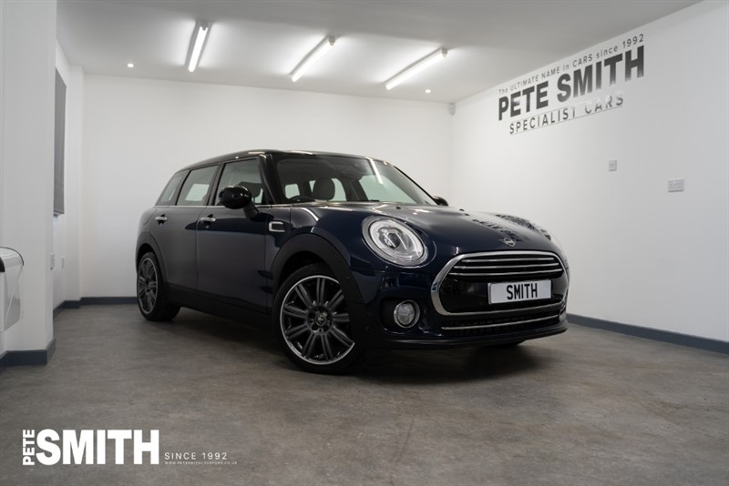 used MINI Clubman 1.5 COOPER EXCLUSIVE STEPTRONIC AUTO ESTATE ONE OWNER JUST 4650 MILES 2019/19 in forest-of-dean-gloucestershire