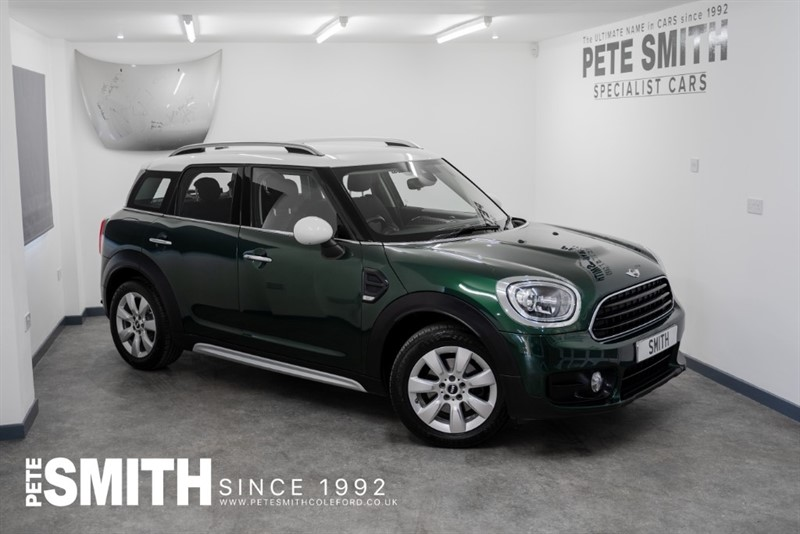used MINI Countryman 1.5T COOPER CHILLI PACK 5 DOOR BIG SPEC ONE OWNER JUST ARRIVED 2017/17 in forest-of-dean-gloucestershire