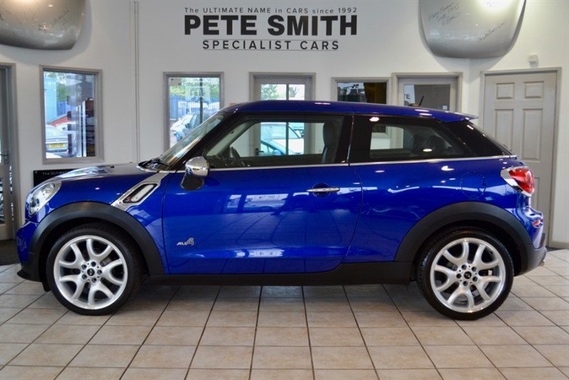 used MINI Paceman 2.0 SD COOPER  ALL4 PANORAMIC ROOF  2013/63 in forest-of-dean-gloucestershire