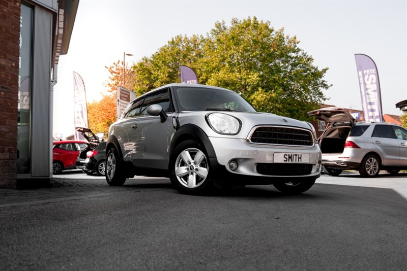used MINI Paceman 1.6 COOPER COUPE 3 DOOR JUST 41000 MILES 2014/64 in forest-of-dean-gloucestershire