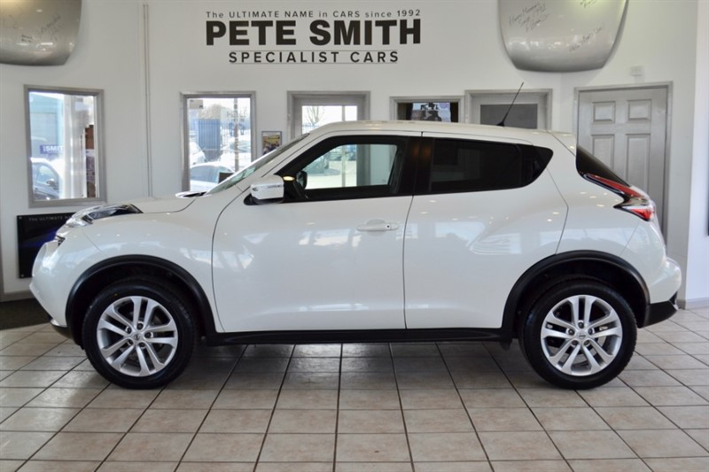 used Nissan Juke 1.2 N-CONNECTA DIG-T 5 DOOR ONE OWNER ONLY 21000 MILES 2017/17 in forest-of-dean-gloucestershire