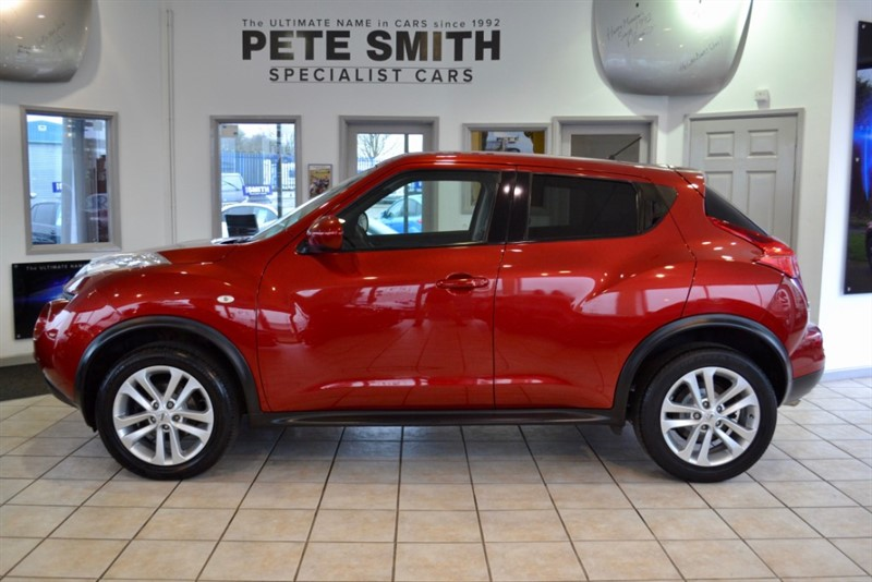 used Nissan Juke 1.5 DCi ACENTA SPORT 5 DOOR WITH SERVICE HISTORY 2013/13 in forest-of-dean-gloucestershire