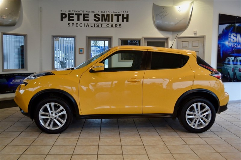 used Nissan Juke 1.5 ACENTA PREMIUM DCI WITH NAVIGATION 2015/65 in forest-of-dean-gloucestershire