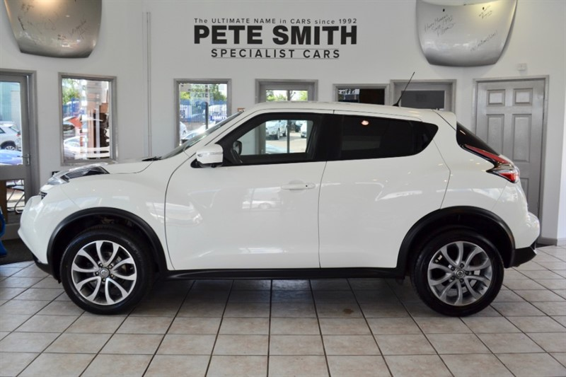 used Nissan Juke 1.5 DCI TEKNA WITH BLACK LEATHER AND NAVIGATION 2015/65 in forest-of-dean-gloucestershire