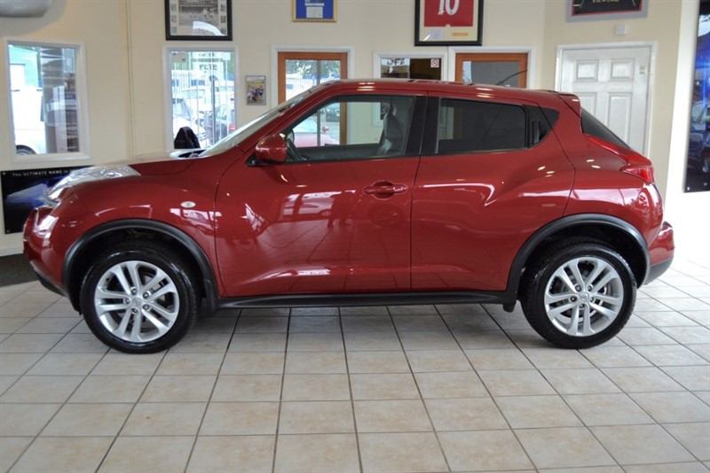 used Nissan Juke TEKNA DCI WITH LEATHER AND NAVIGATION in forest-of-dean-gloucestershire