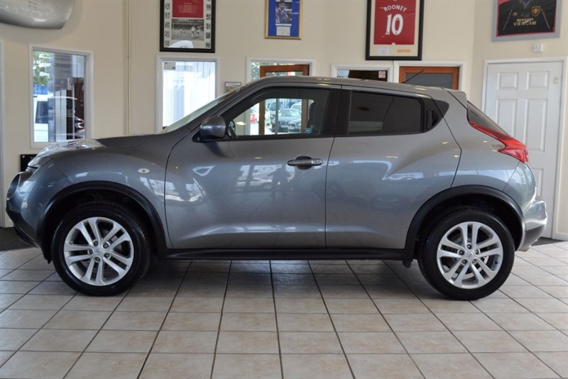 used Nissan Juke 1.5 ACENTA PREMIUM DCI WITH SATALLITE NAVIGATION in forest-of-dean-gloucestershire