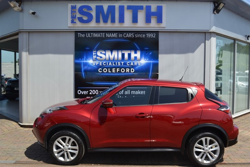 used Nissan Juke 1.5 DCI N-CONNECTA SATELLITE NAVIGATION 2016/16 in forest-of-dean-gloucestershire
