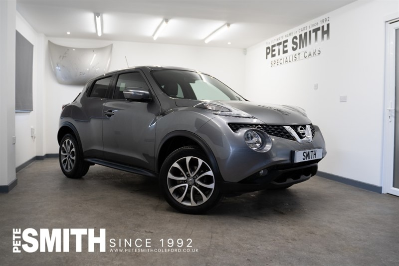 used Nissan Juke 1.6 TEKNA X-TRONIC AUTOMATIC 5 DOOR ONE OWNER JUST 11000 MILES FULL SERVICE HISTORY 2018/18 in forest-of-dean-gloucestershire
