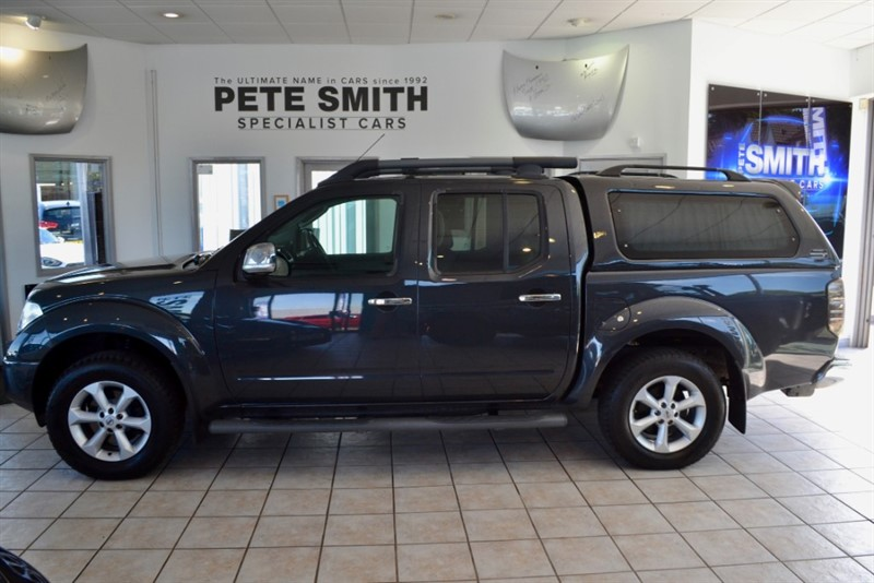 used Nissan Navara 2.5 DCI LONG WAY DOWN EXPEDITION 2008/08 in forest-of-dean-gloucestershire