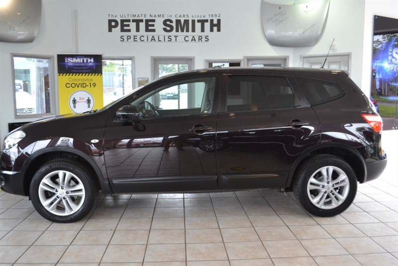 used Nissan Qashqai 1.5 DCI ACENTA PLUS 2 WITH 7 SEATS FULL SERVICE HISTORY 2011/61 in forest-of-dean-gloucestershire