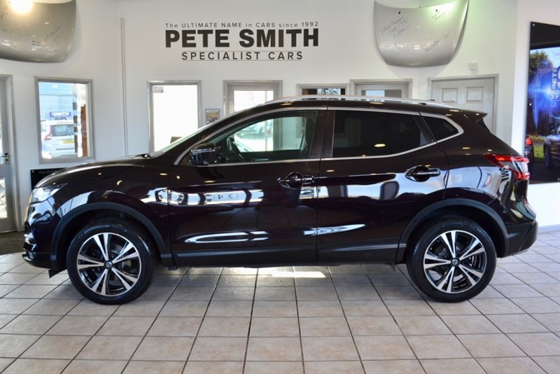 used Nissan Qashqai 1.6 DCI N-CONNECTA FULL NISSAN SERVICE HISTORY PANORAMIC ROOF 2017/67 in forest-of-dean-gloucestershire