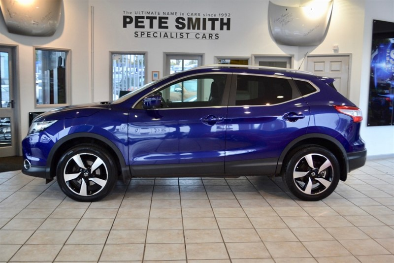 used Nissan Qashqai 1.6 DCI N-TEC PLUS WITH NAV AND PANORAMIC ROOF 2015/65 in forest-of-dean-gloucestershire