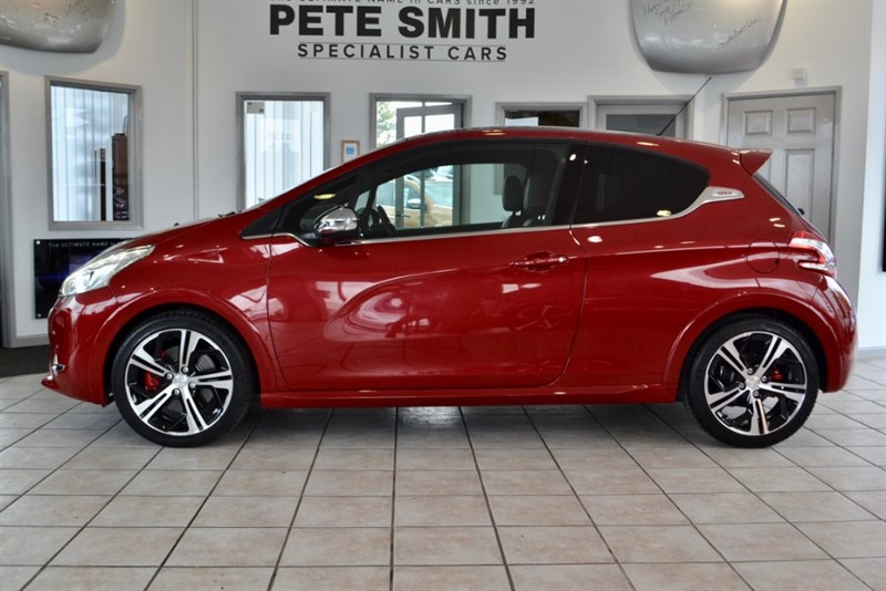 used Peugeot 208 1.6 200 THP GTI LIMITED EDITION WITH JUST 7800 MILES FROM NEW 2015/15 in forest-of-dean-gloucestershire