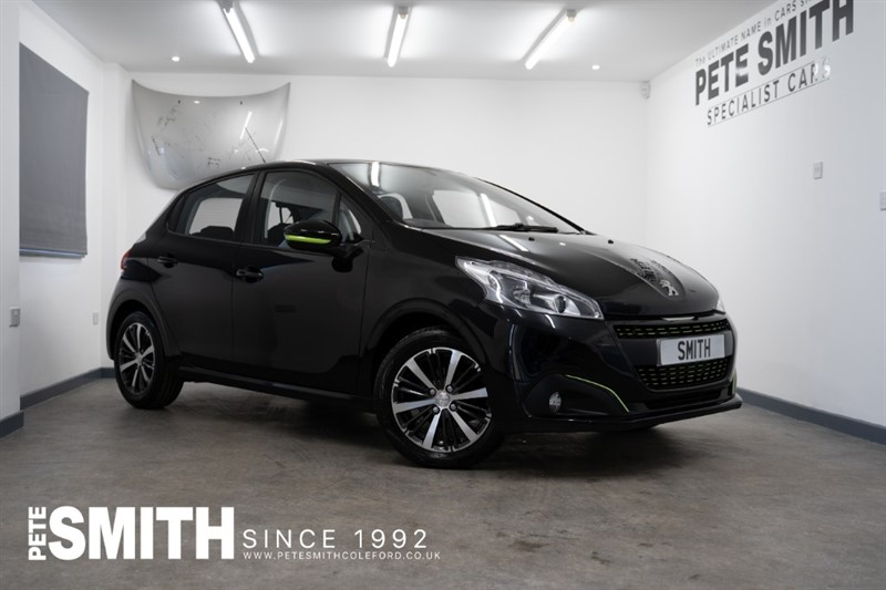 used Peugeot 208 1.2 XS LIME SPECIAL EDITION 5 DOOR JUST 24000 MILES 2016/16 in forest-of-dean-gloucestershire