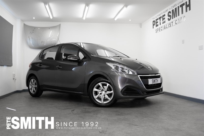 used Peugeot 208 1.2 PURE TECH ACTIVE 5 DOOR WITH JUST 10900 MILES APPLE CAR PLAY 2018/18 in forest-of-dean-gloucestershire