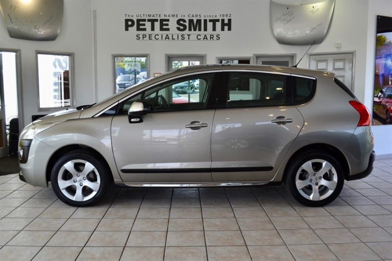 used Peugeot 3008 1.6 HDI EXCLUSIVE PANORAMIC ROOF 2010/60 in forest-of-dean-gloucestershire