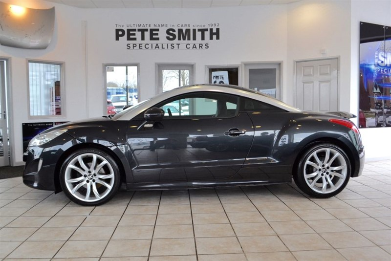 used Peugeot RCZ 1.6 THP GT COUPE 2011/11 WITH JUST 26000 MILES FROM NEW in forest-of-dean-gloucestershire