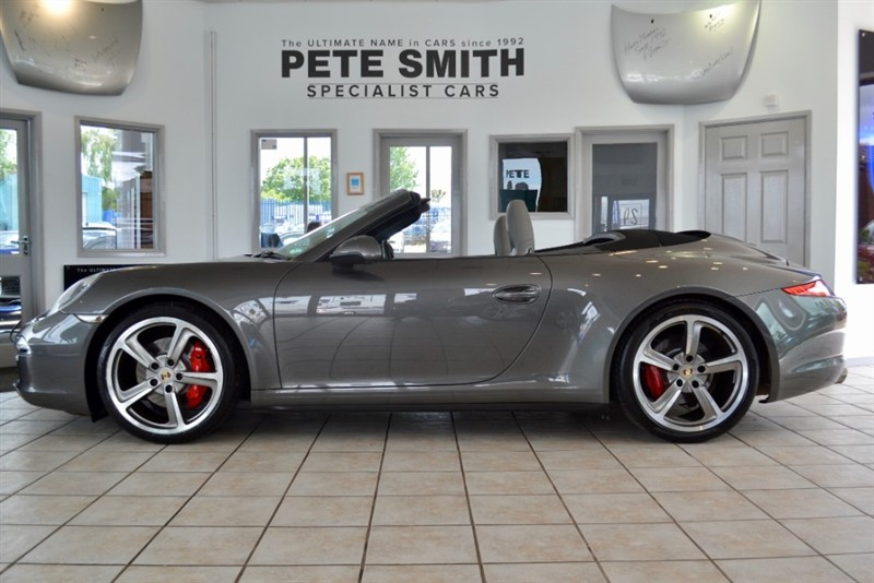 used Porsche 911 CARRERA 4S PDK 3.8 CONVERTIBLE ONE OWNER WITH SPORTS CHRONO PLUS AND SPORTS EXHAUST 2013/13 in forest-of-dean-gloucestershire