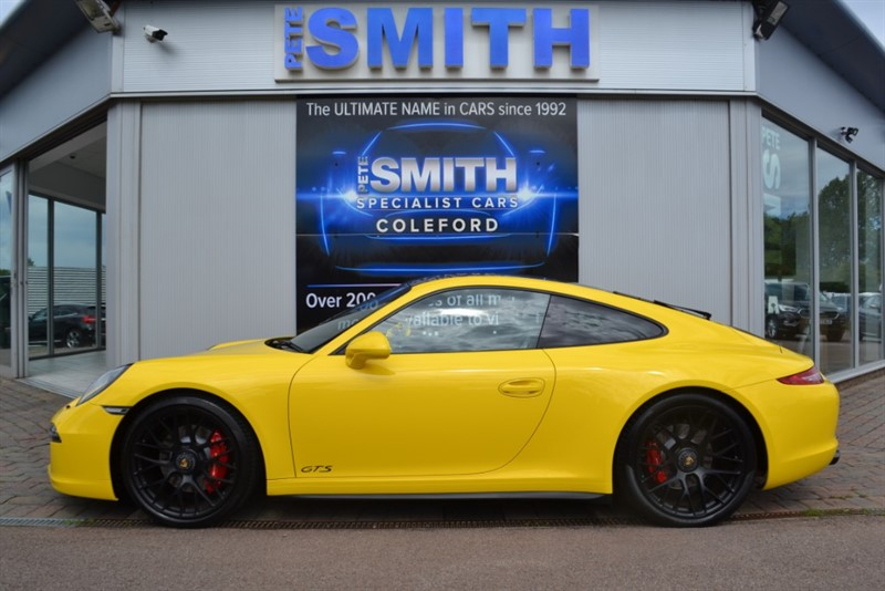 used Porsche 911 3.8 991 CARRERA 4 GTS PDK 4WD COUPE JUST 12000 MILES SLIDING GLASS ROOF SPORTS EXHAUST 2015/15 in forest-of-dean-gloucestershire