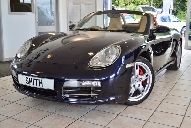 used Porsche Boxster 3.2 24v S CONVERTIBLE WITH JUST 46000 MILES FROM NEW 2005/05 in forest-of-dean-gloucestershire