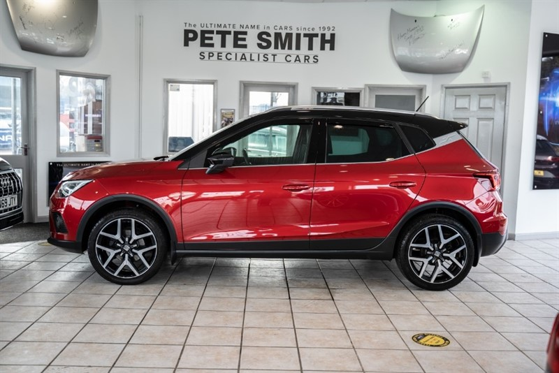 used SEAT Arona 1.0 TSI FR SPORT 5 DOOR MEDIA SYSTEM PLUS PARKING PILOT 2018/18 in forest-of-dean-gloucestershire
