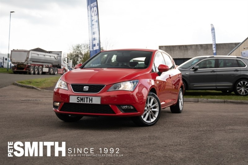 used SEAT Ibiza 1.4 TOCA 5 DOOR GARMIN TOUCH SCREEN NAV ONLY 27000 MILES JUST ARRIVED 2015/15 in forest-of-dean-gloucestershire