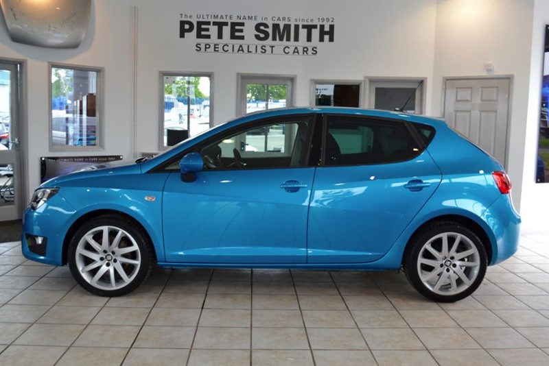 used SEAT Ibiza 1.2 TSI FR TECHNOLOGY 2016/16 ONE OWNER WITH NAVIGATION in forest-of-dean-gloucestershire