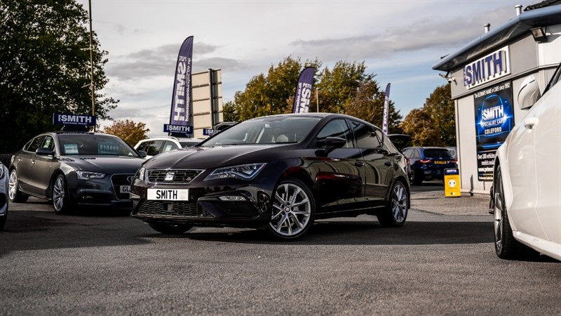 used SEAT Leon 1.8 TSI FR TECHNOLOGY 5 DOOR JUST 15000 MILES 2018/18 in forest-of-dean-gloucestershire