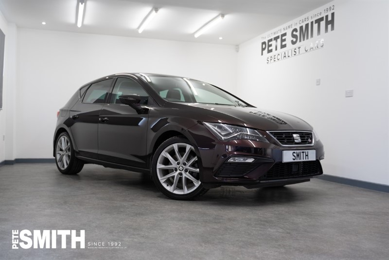 used SEAT Leon 1.8 TSI FR TECHNOLOGY 5 DOOR JUST 15000 MILES VERY HIGH SPEC INCLUDING NAVIGATION 2018/18 in forest-of-dean-gloucestershire