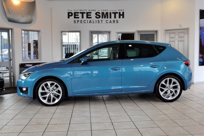 used SEAT Leon 2.0 TDI FR TECHNOLOGY DSG 2016/16 WITH JUST THE ONE OWNER FROM NEW in forest-of-dean-gloucestershire