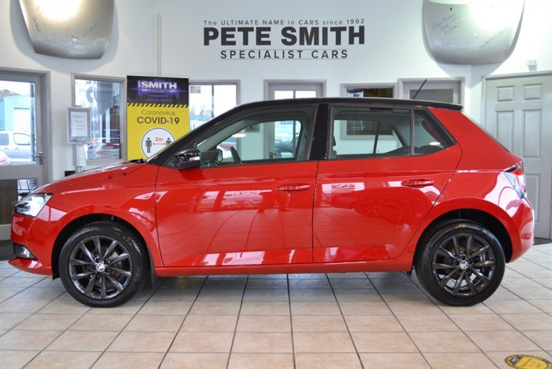 used Skoda Fabia 1.0 TSI COLOUR EDITION 5 DOOR ONE OWNER WITH JUST 10000 MILES 2019/19 in forest-of-dean-gloucestershire