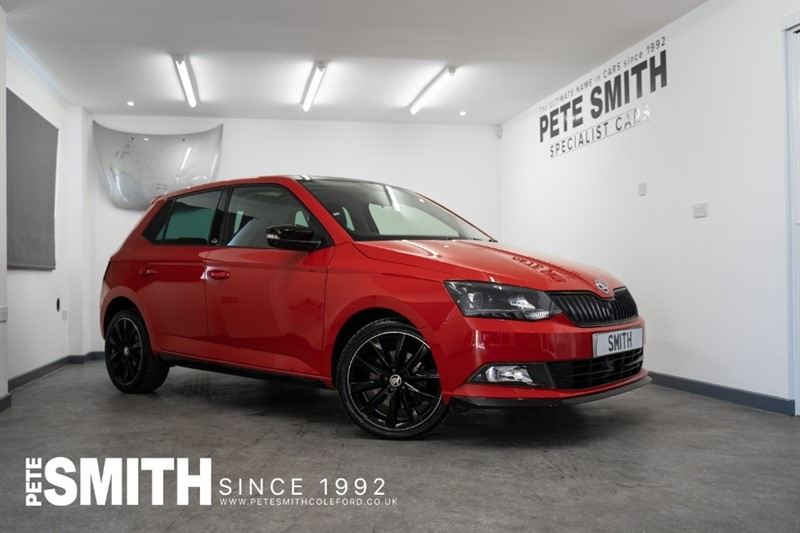 used Skoda Fabia 1.0 MONTE CARLO TSI 5 DOOR ONE OWNER VERY HIGH SPECIFICATION INCLUDING SUNROOF 2017/67 in forest-of-dean-gloucestershire