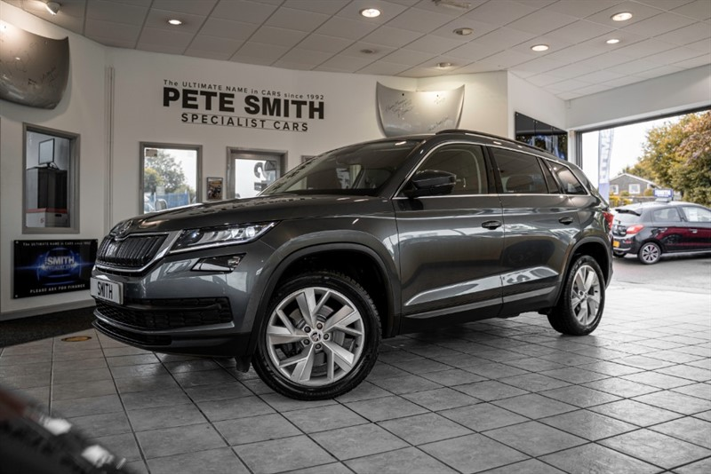 used Skoda Kodiaq 2.0 SEL TDI SCR DSG 5 DOOR 4WD 7 SEATS FULL SKODA SERVICE HISTORY 2018/18 in forest-of-dean-gloucestershire