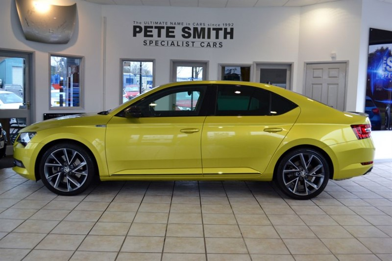 used Skoda Superb 2.0 SPORTLINE TSI DSG 280 BHP WITH GREAT SPECIFICATION 2017/17 in forest-of-dean-gloucestershire