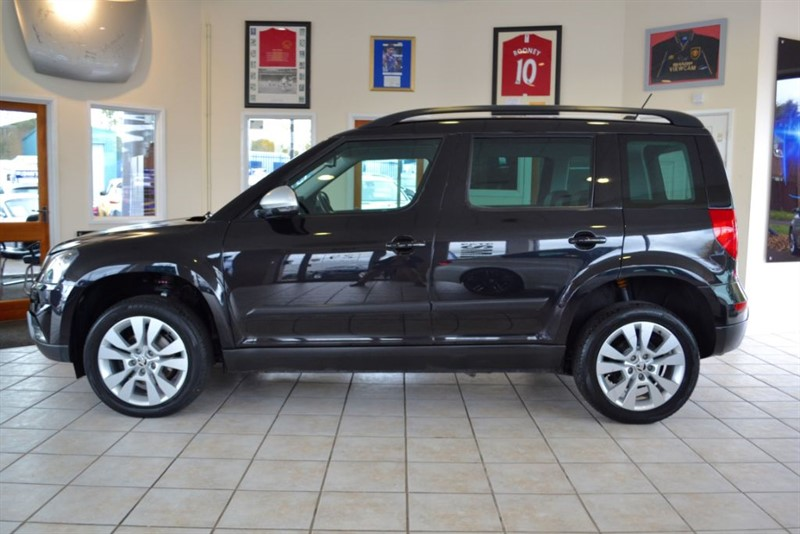 used Skoda Yeti 2.0 OUTDOOR ELEGANCE TDI CR DSG 4X4 in forest-of-dean-gloucestershire