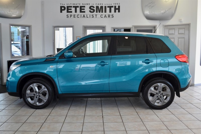 used Suzuki Vitara SZ-T  1.6 DDIS 1 OWNER FULL SERVICE HISTORY TOUCH SCREEN NAVIGATION2016/66 in forest-of-dean-gloucestershire