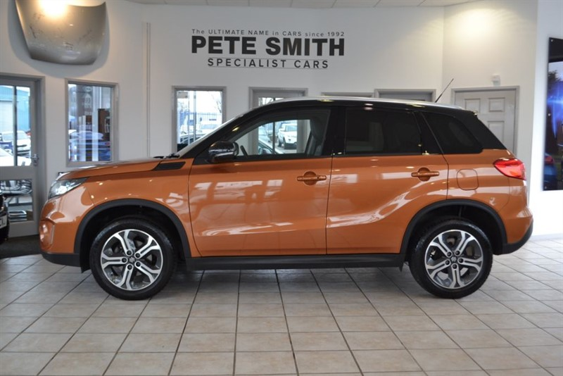 used Suzuki Vitara 1.6 SZ5 ONLY 9000 MILES 2016/66 WITH NAVIAGTION AND PANORAMIC  ROOF in forest-of-dean-gloucestershire