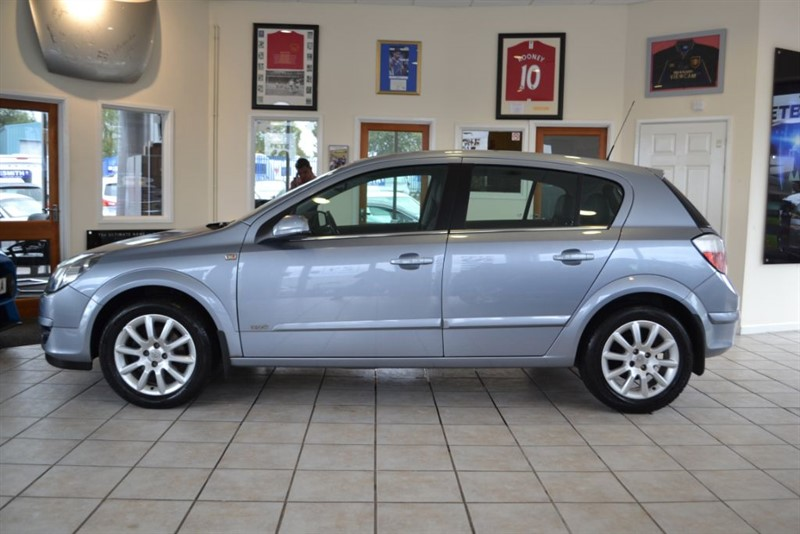 used Vauxhall Astra 1.6 DESIGN 16V TWINPORT in forest-of-dean-gloucestershire