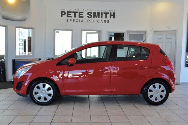 used Vauxhall Corsa 1.0 EXCLUSIV AC CDTI ECOFLEX 2013/13 WITH 26000 MILES FROM NEW in forest-of-dean-gloucestershire