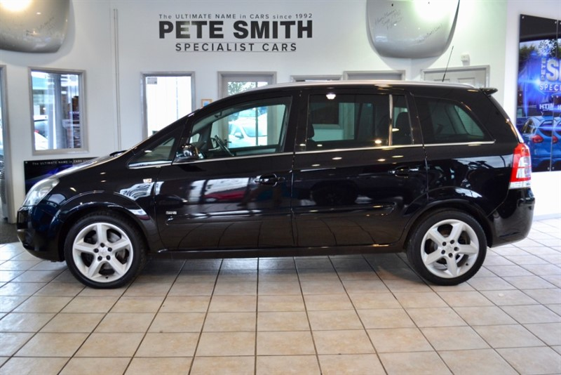 used Vauxhall Zafira 1.9 CDTI SRi  5 DOOR 150 2008/58 7 SEATER TAKEN IN PART EXCHANGE AND PRICED TO CLEAR in forest-of-dean-gloucestershire