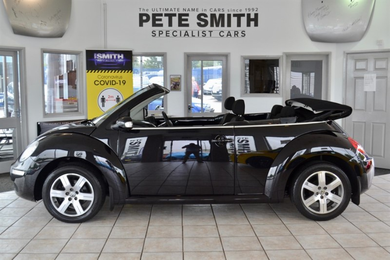 used VW Beetle 1.4 LUNA 16V CONVERTIBLE JUST 48000 MILES WITH SERVICE HISTORY 2010/10 in forest-of-dean-gloucestershire