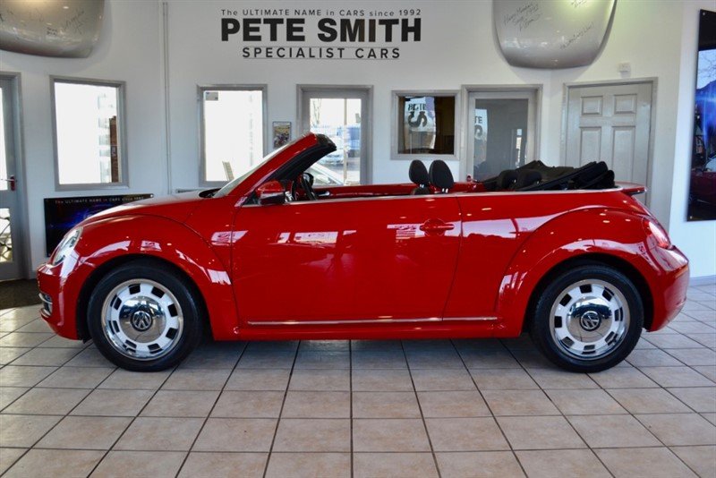 used VW Beetle 1.2 DESIGN TSI CONVERTIBLE WITH A FULL VW SERVICE HISTORY 2014/14 in forest-of-dean-gloucestershire