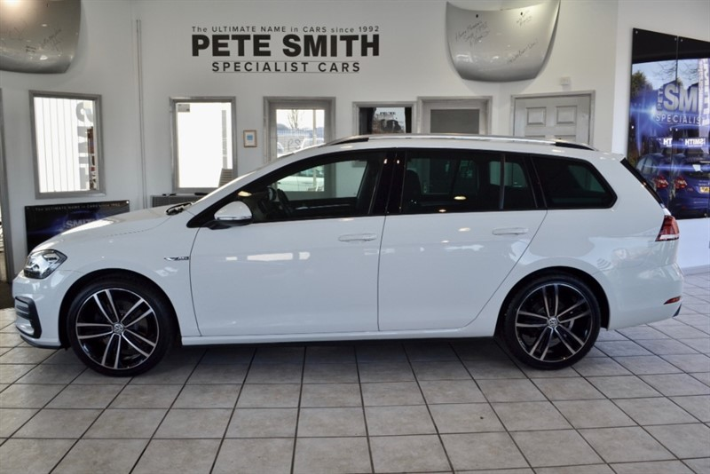 used VW Golf 2.0 GTD TDI DSG AUTO ESTATE VIRTUAL COCKPIT NAVIGATION AND FULL VW SERVICE HISTORY2018/67 in forest-of-dean-gloucestershire