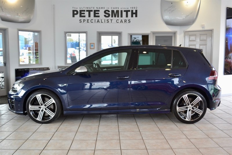 used VW Golf 2.0 R DSG 5 DOOR 2016/66 ONLY 26000 MILES WITH NAVIGATION in forest-of-dean-gloucestershire