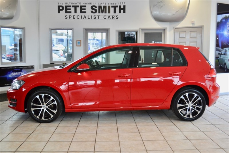 used VW Golf MATCH 1.4 TSI BLUEMOTION TECHNOLOGY WITH JUST THE ONE OWNER FROM NEW 2015/65 in forest-of-dean-gloucestershire