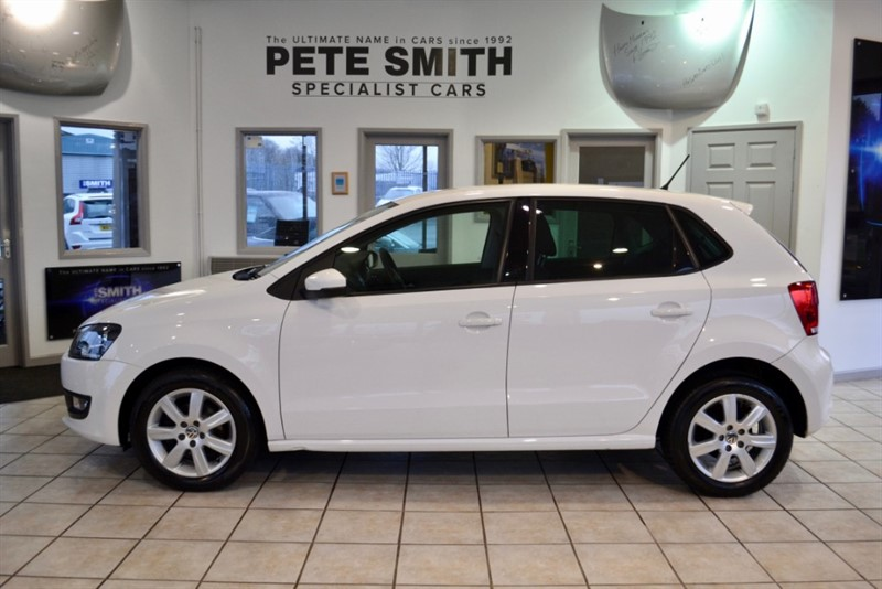 used VW Polo 1.2 MATCH WITH BLUETOOTH 2012/62 in forest-of-dean-gloucestershire