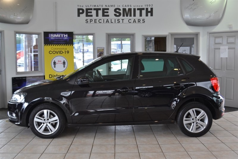 used VW Polo 1.2 TSi  MATCH 5 DOOR FULL VW SERVICE HISTORY 2016/16 in forest-of-dean-gloucestershire