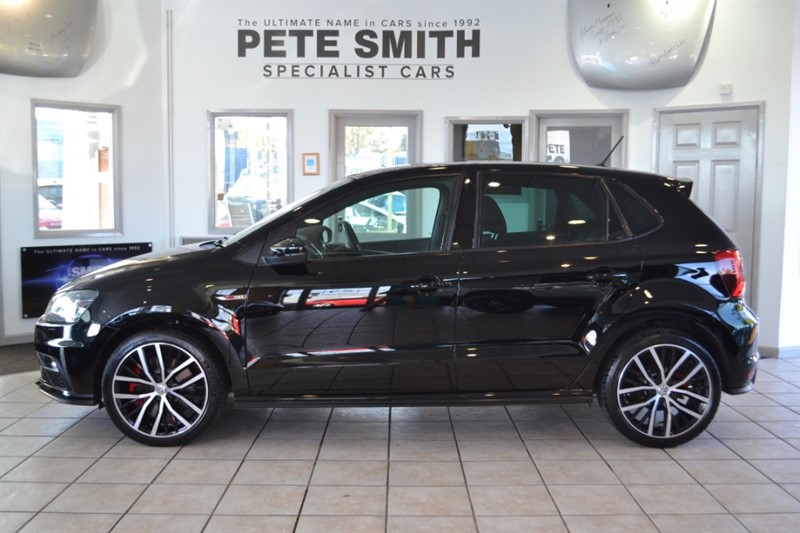 used VW Polo 1.8 GTI 5 DOOR ONE OWNER FROM NEW WITH A FULL VW SERVICE HISTORY 2015/655 in forest-of-dean-gloucestershire