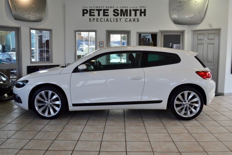 used VW Scirocco 2.0 GT TDI FULL SERVICE HISTORY 2010/10 in forest-of-dean-gloucestershire